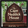 The Cape Neddick House sign was created and faux painted to look like a dresser.