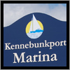 Kennebunk Marina supplied their own sign posts and installation.