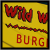 Wild Willy's sign in Portland, Maine has cut out and applied dimensional letters.
